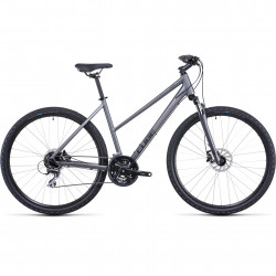 Bicicleta CUBE NATURE TRAPEZE Graphite Black