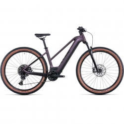 Bicicleta CUBE REACTION HYBRID EXC 625/750 29 TRAPEZE Smokylilac Black