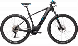 BICICLETA CUBE REACTION HYBRID ONE 500 29 Black Blue