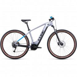 Bicicleta CUBE REACTION HYBRID PERFORMANCE 625 Polarsilver Blue