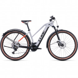 Bicicleta CUBE REACTION HYBRID PRO 500 ALLROAD TRAPEZE Grey Red
