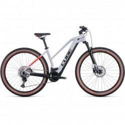 Bicicleta CUBE REACTION HYBRID PRO 625 TRAPEZE Grey Red