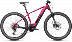 BICICLETA CUBE REACTION HYBRID RACE 625 29 Berry Black