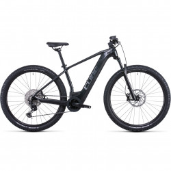 Bicicleta CUBE REACTION HYBRID RACE 625 Grey Metal