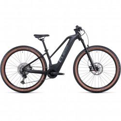 Bicicleta CUBE REACTION HYBRID SL 625/750 29 TRAPEZE Black Metal