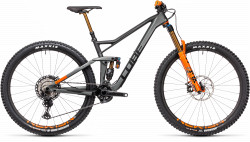 BICICLETA CUBE STEREO 150 C:68 TM 29 Flashgrey Orange