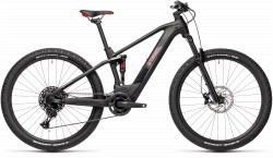 BICICLETA CUBE STEREO HYBRID 120 PRO 625 Black Red
