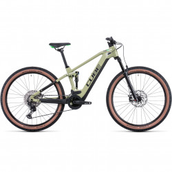 Bicicleta CUBE STEREO HYBRID 120 RACE 625 Green Flashgreen
