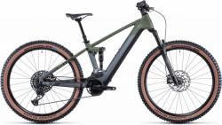 Bicicleta CUBE STEREO HYBRID 120 TM 625/750 Flashgrey Olive