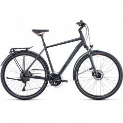 Bicicleta CUBE TOURING EXC IRIDIUM ORANGE Grey Orange
