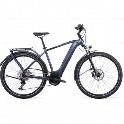 Bicicleta CUBE TOURING HYBRID PRO 625 Metallicgrey Black