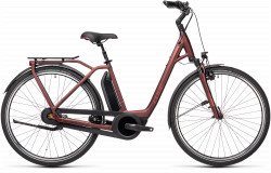BICICLETA CUBE TOWN RT HYBRID PRO 500 EASY ENTRY Red Red