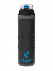 Bidon Cube Thermo Black Grey Blue 0.65L