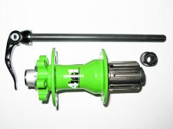 Butuc spate Novatec QR-9, 4rulmenti, 4in1, Alien-Green