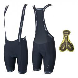 Pantaloni Scurti Force cu Bazon si Bretele B45 Negru