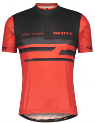 TRICOU SCOTT RC TEAM 20 MANECA SCURTA RED DARK ANTRACIT