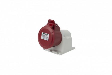 Priza industriala trifazata 400V 4P 16A 6h IP44 Famatel