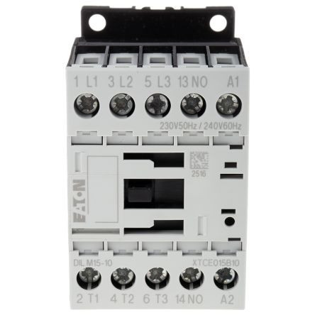 Contactor 3P 15,5A 7,5 kW AC-3 1ND EATON DIL M15-10