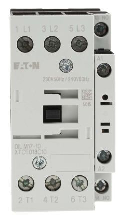 Contactor 3P 18A 7,5 kW AC-3 1ND EATON DIL M17-10
