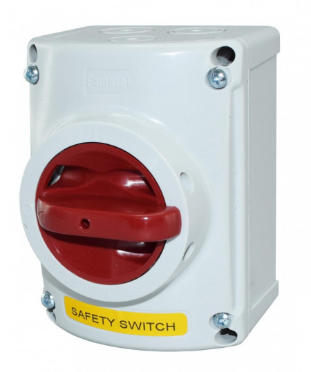 Intrerupator de siguranta 16A 3P 400V IP65 Famatel