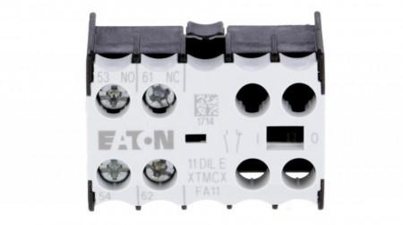 Contact auxiliar frontal 1NO+1NC EATON 11 DIL E