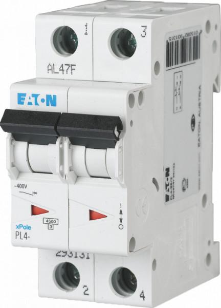 Intrerupator automat modular 2P 10A 4,5kA clasa C Eaton