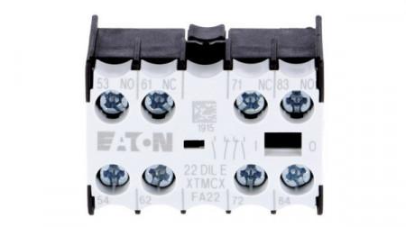 Contact auxiliar frontal 2NO+2NC EATON 22 DIL E