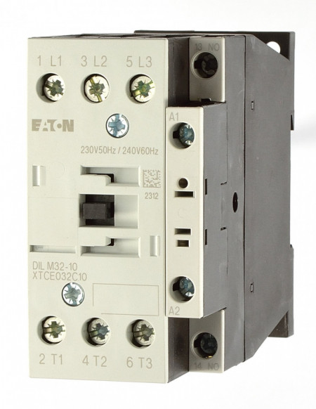 Contactor 3P 32A 15 kW AC-3 1ND EATON DIL M32-10