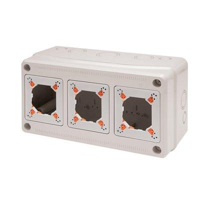 Tablou electric AcquaCOMBI 330x175x135mm cu loc de prize predecupate IP65 Famatel