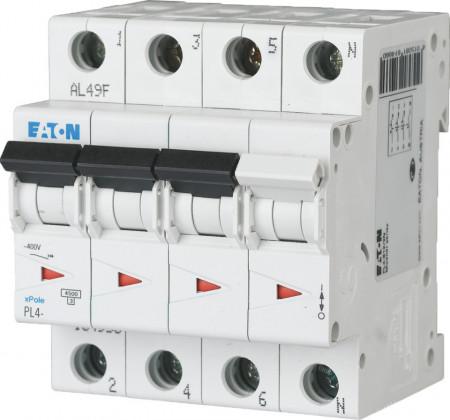 Intrerupator automat modular 3P+N 32A 4,5kA clasa C Eaton