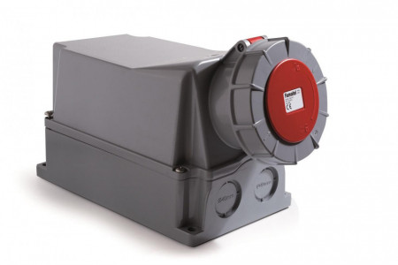 Priza industriala trifazata 400V 5P 125A 6h IP67 Famatel