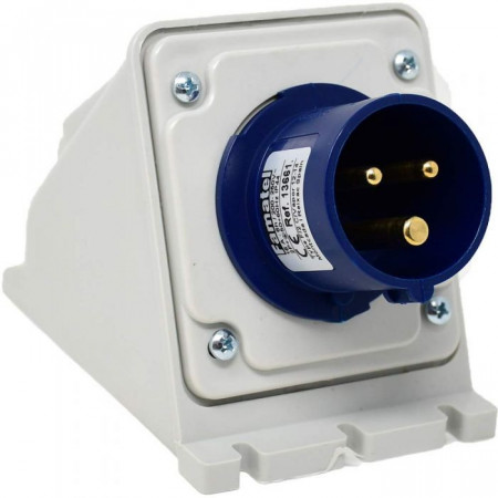 Fisa fixa industriala monofazata Famatel 230V 3 poli 16A 6h IP44