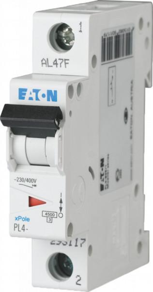 Intrerupator automat modular 1P 20A 4,5kA clasa C Eaton