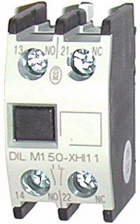 Contact auxiliar frontal 1NO+1NC EATON DIL M150-XHI-11