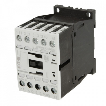 Contactor 3P 7A 3 kW AC-3 1ND EATON DIL M7-10