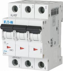 Intrerupator automat modular 3P 50A 4,5kA clasa C Eaton