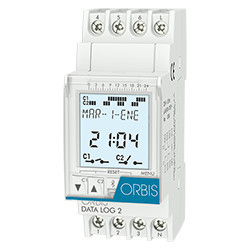 Programator orar digital DATA LOG 2 230V Orbis