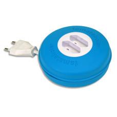 Roller 2 prize 10A 230V cablu 2X1,5mmp 3m albastru Famatel