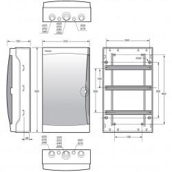 Tablou electric Acqua 42M IP65 Famatel