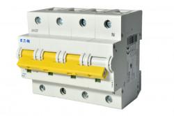 Intrerupator automat modular 3P+N 100A 20kA clasa C Eaton