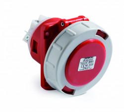 Priza industriala trifazata 400V 5P 63A 6h incastrata IP67 Famatel