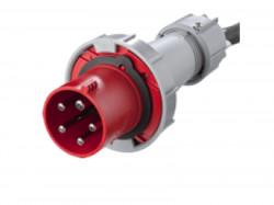 Fisa industriala trifazata 400V 5P 125A 6h IP67 Famatel