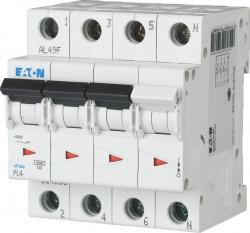 Intrerupator automat modular 3P+N 25A 4,5kA clasa C Eaton