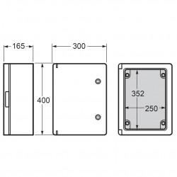 Tablou electric Magna 300x400x165mm IP65 Famatel