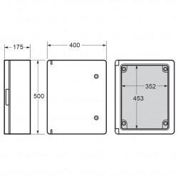 Tablou electric Magna 400x500x175mm IP65 Famatel