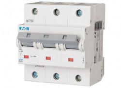 Intrerupator automat modular 3P 80A 20kA clasa C Eaton