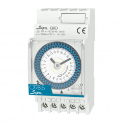 Programator orar analogic SUPRA QRS 230V saptamanal Orbis
