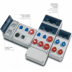 Tablouri electrice echipate cu prize si aparataj automat la comanda