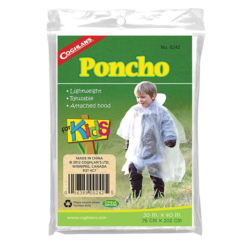 Poncho ploaie Coghlans
