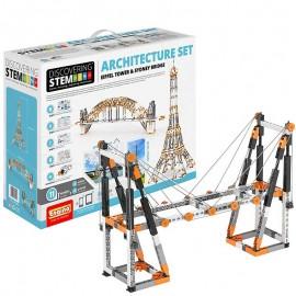 Poze STEM Set de Arhitectura: Turnul Eiffel si Podul Sydney
